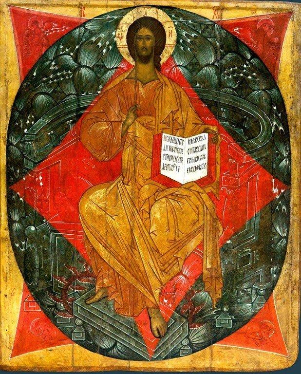 Спас в Силах. Икона. Москва, XVI век.