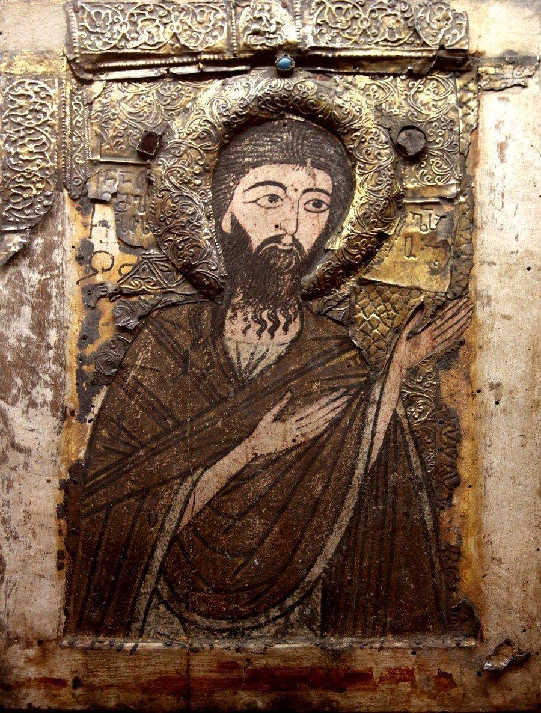 Святой Иоанн Предтеча. Грузинская икона. Кутаисский музей.