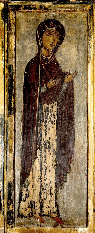 Пресвятая Богородица. Икона. Сванетия, Грузия.