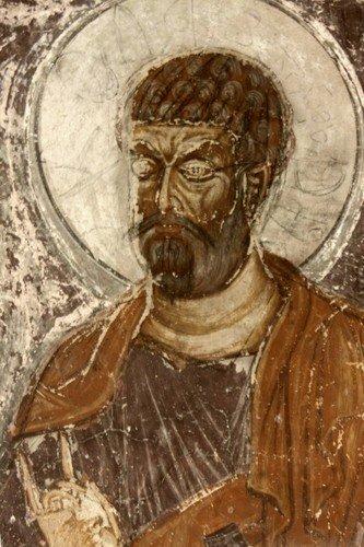 Лики Святых на фресках монастыря Шиомгвиме (Шио-Мгвимского монастыря), Грузия.
