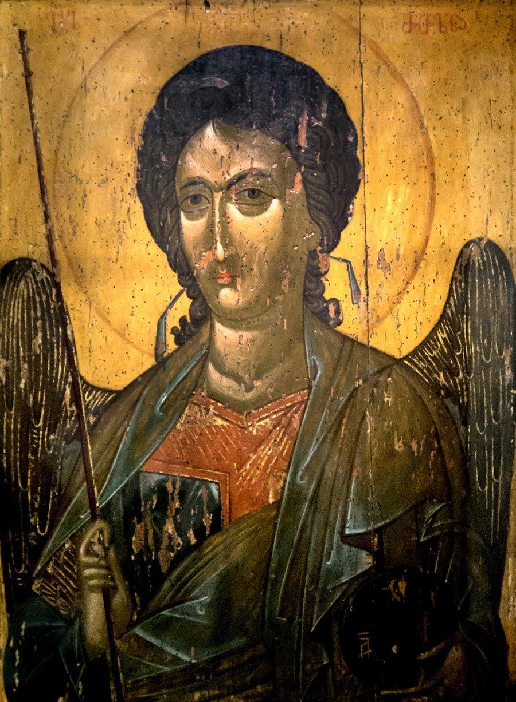 Архангел Гавриил. Икона из деисиса монастыря Убиса (Убиси). Грузия, XIV век.