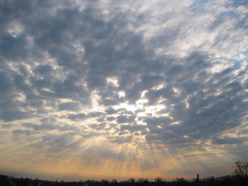 Утренняя небесная симфония
