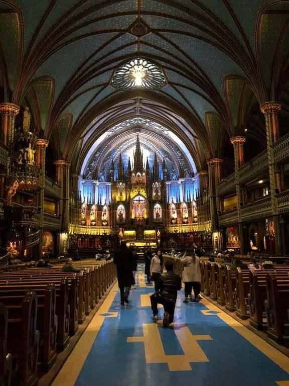 Кафедральный собор Нотр-Дам де Монреаль