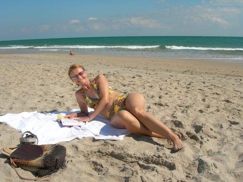 Флоридский пляж после урагана Вилма