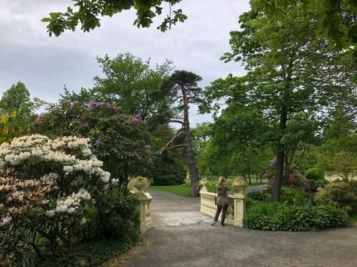 Провинция Онтарио. В ботаническом парке.