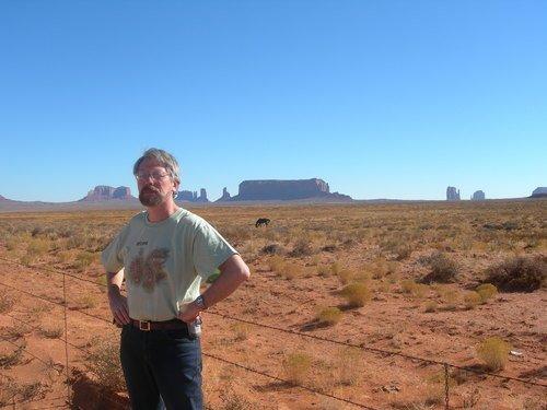 Граница резервации индейцев навахо