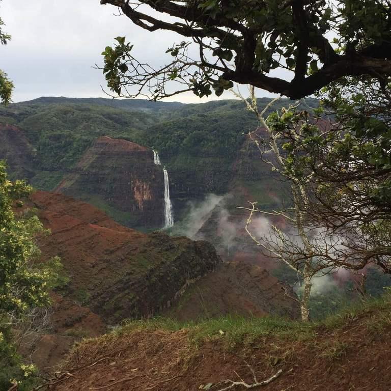 Кауаи - самый мокрый остров на Земле