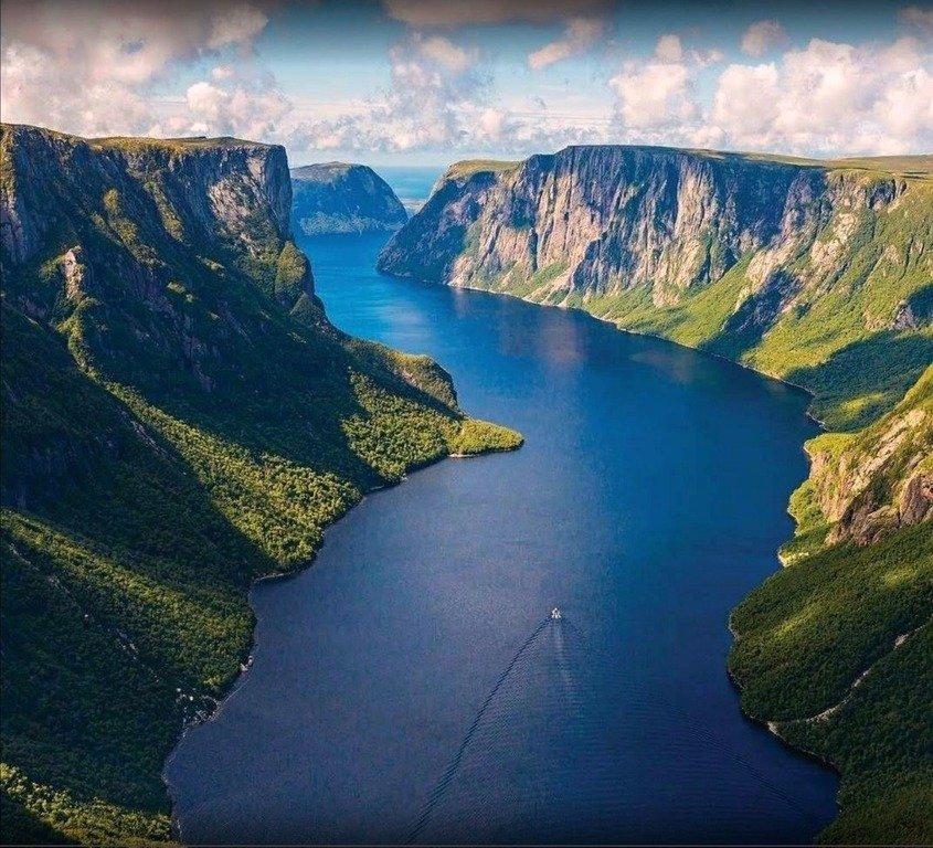 Озёра канадского острова Ньюфаундленд