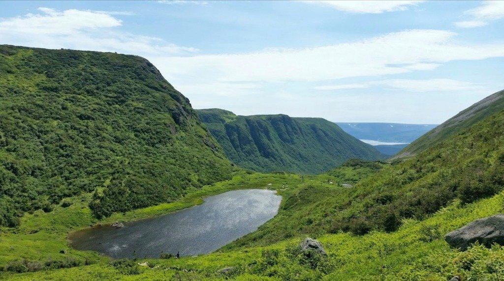 Озерко на острове Ньюфаундленд