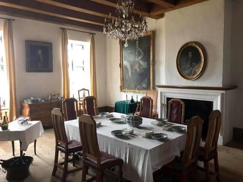 Губернаторские апартаменты в крепости Луисбурга