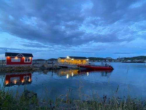 Вечер на острове Ньюфаундленд