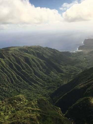 Мауи в складках