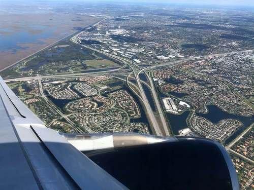 Под крылом самолёта - Флорида
