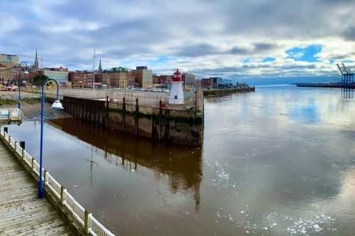 Порт Сент-Джон в устье одноимённой реки