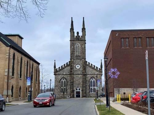 Церковь - тёзка города Сент-Джон