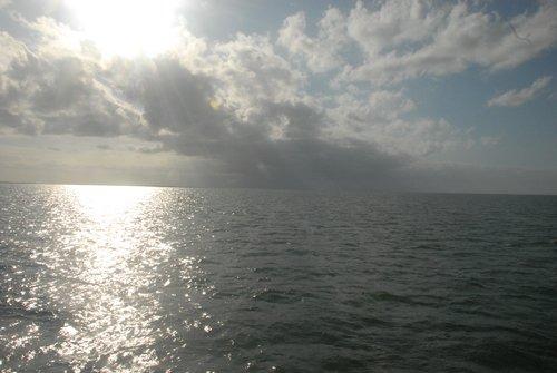 Карибское море. Первые лучи нового дня...