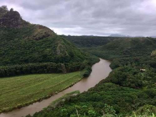 Река Ваимеа на острове Кауаи