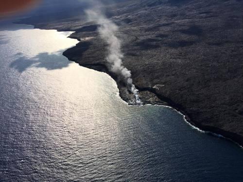 Гавайи. Вулкан Калапана.