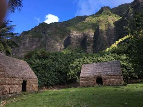 Куалоа-парк на острове Оаху