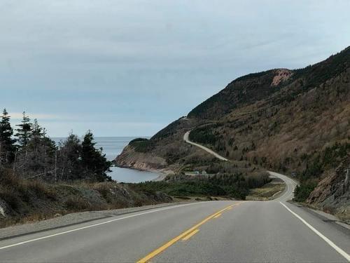Дорога Кабота на канадском острове Кейп-Бретон