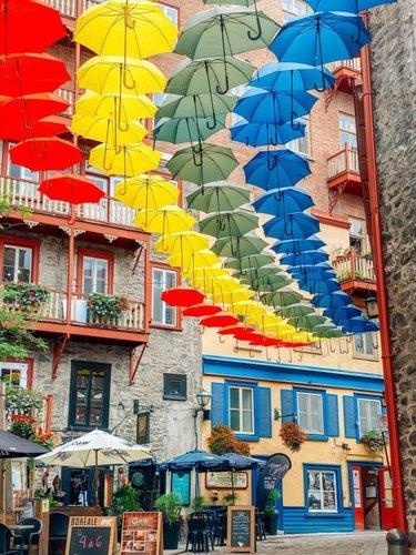 Зонтики Квебека