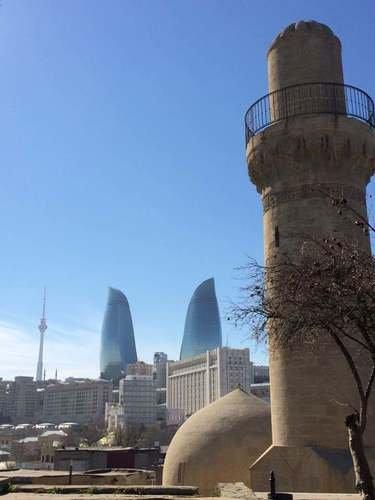 Старое и новое в Баку
