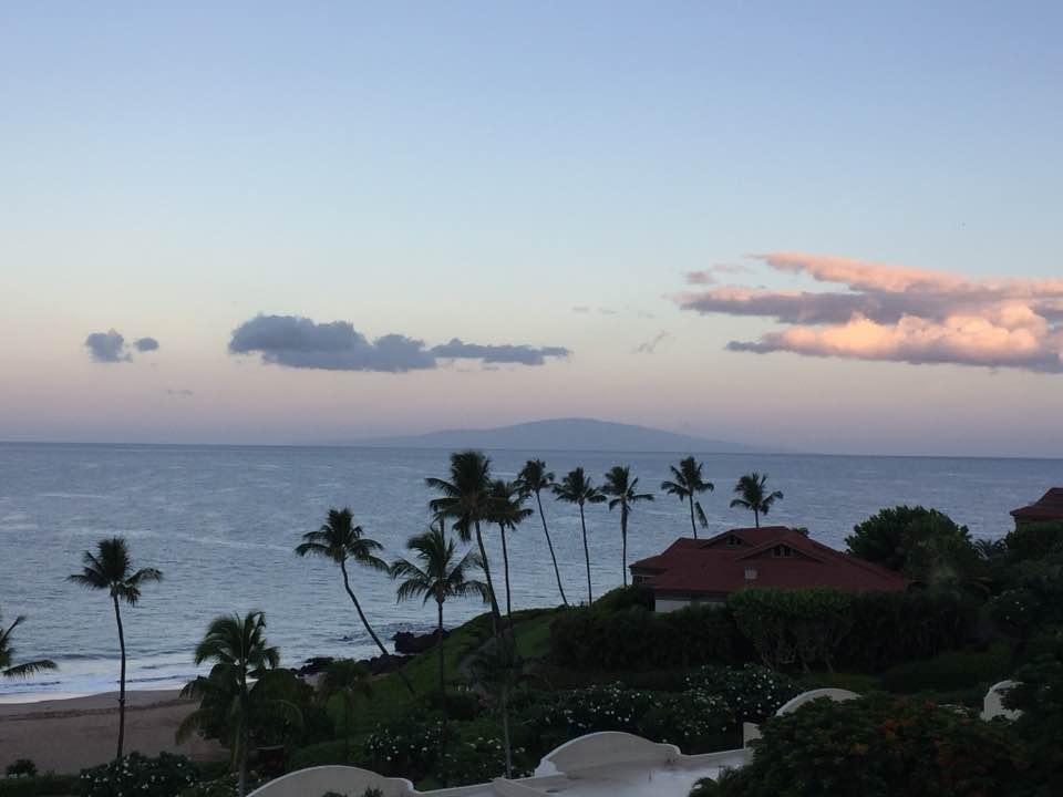 Вечером на острове Мауи.