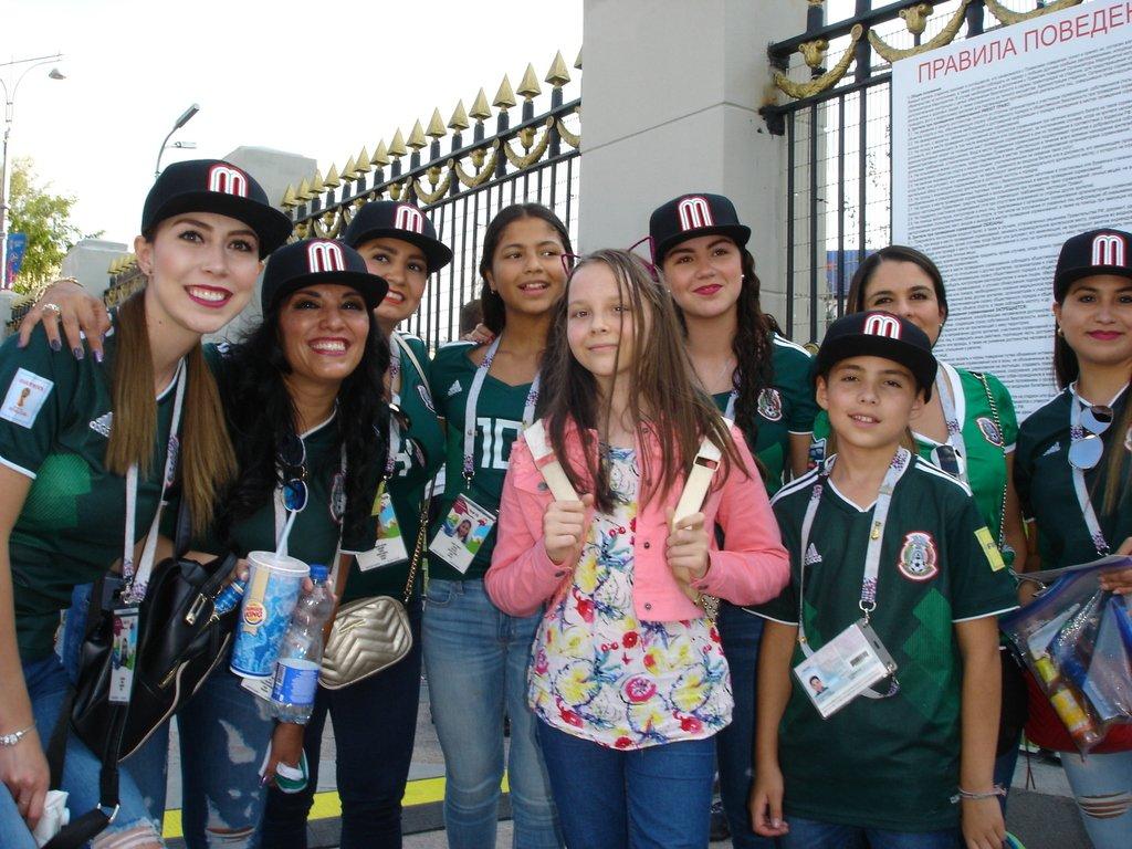 Мексиканки с Настей во главе