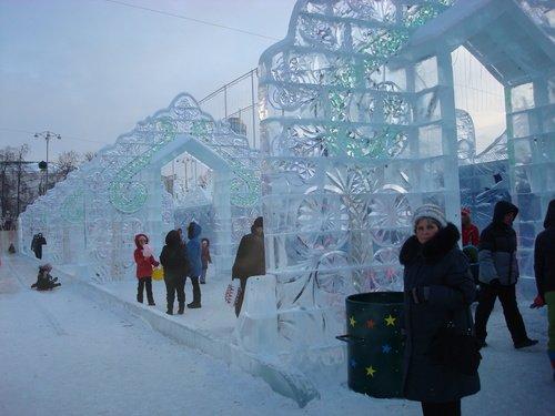 Ледяные арки