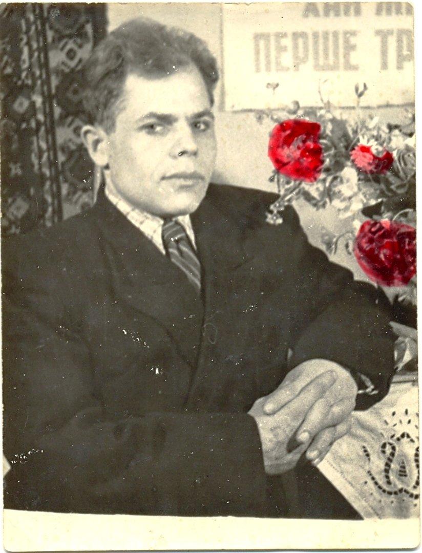 Брат мамы, Костя. 15.12.1953г. Воспоминание о маме, в её день рождения, 2-го марта...