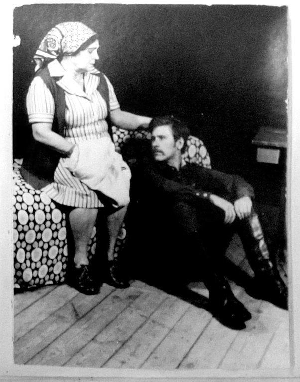 Отпуск по ранению. Театр. 1983 год. Воспоминания театральные 008