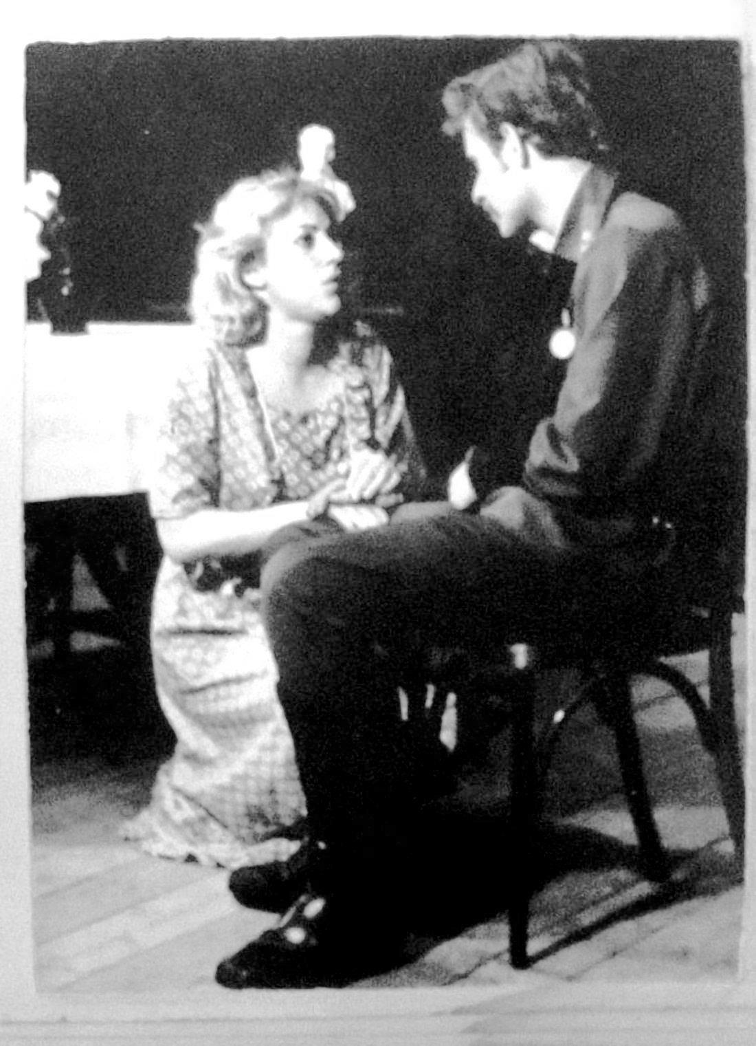 Отпуск по ранению. Театр. 1983 год. Воспоминания театральные 007