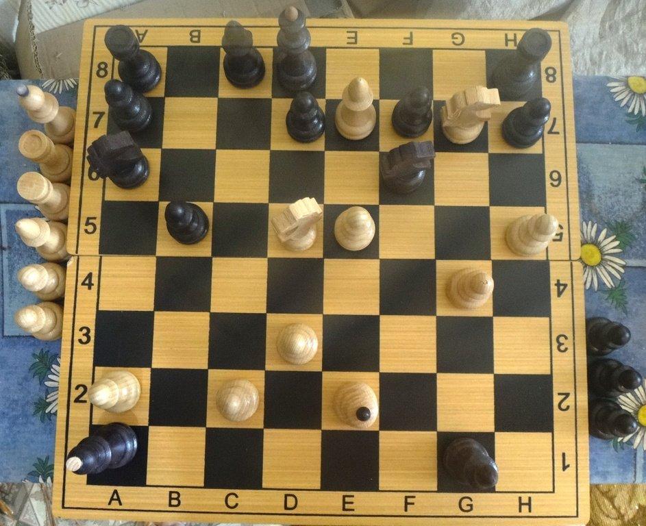 Мат на шахматной доске 003
