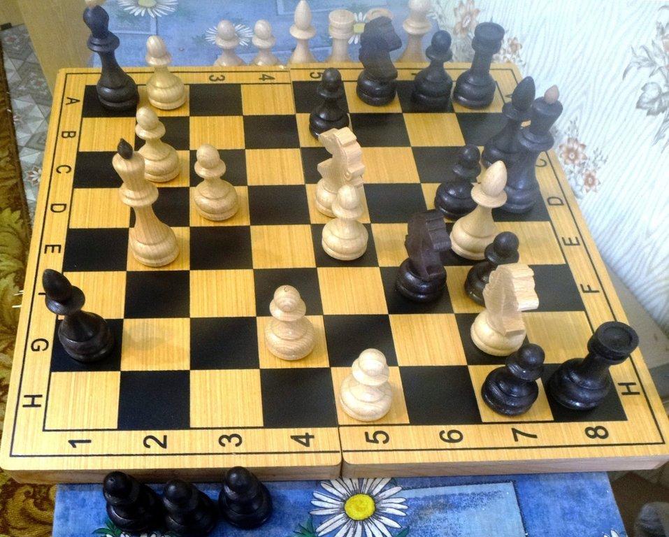 Мат на шахматной доске 002