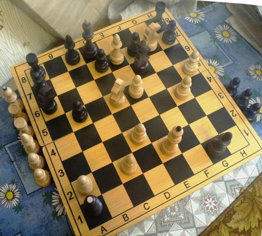 Мат на шахматной доске 001