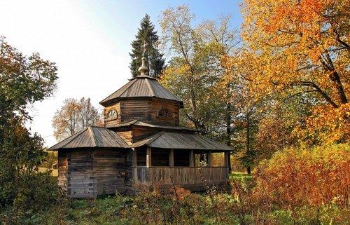 Осень в Василево.