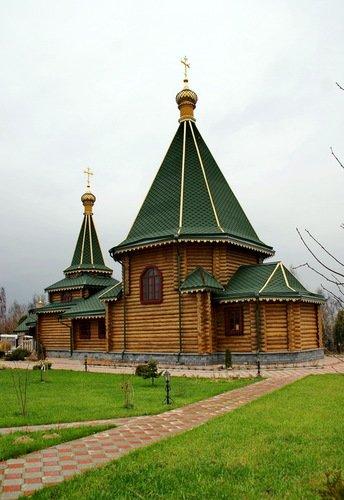 Церковь Георгия Победоносца в Мамоново