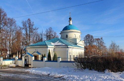 Казанская церковь в Молоково