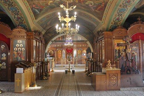 Интерьер Казанской церкви в Молоково