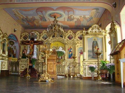 Интерьер Троицкой церкви в Мосрентгене