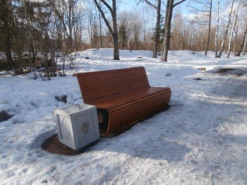 Диван - скамейка