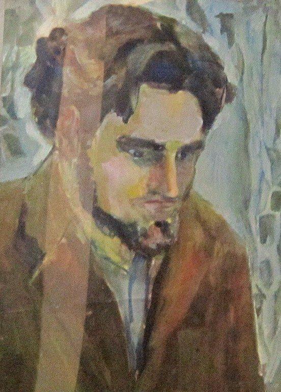 Майя Петракова. Портрет художника Сергея Мокрицкого. 19. 05. 1964 года.