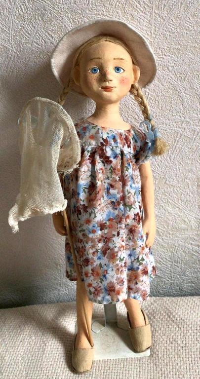 Авторская кукла. Автор Ольга Петровна Соболева.