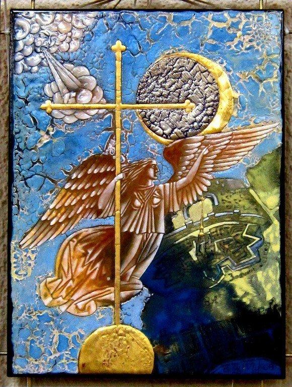 Лиховид Георгий Иванович. Ангел на Петропавловской.