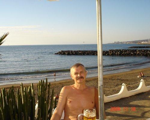 Вечерний пляж на Тенерифе. Не хочется уходить...