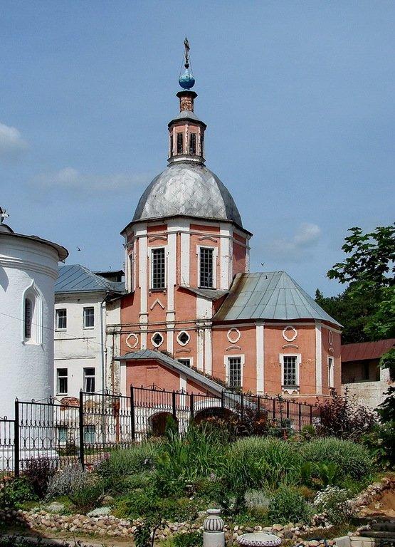 Церковь Митрофана, патриарха Константинопольского, в Пафнутьевом-Боровском монастыре