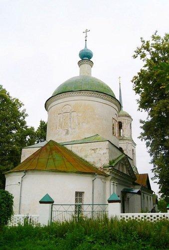 Церковь Димитрия Солунского в Рябушках
