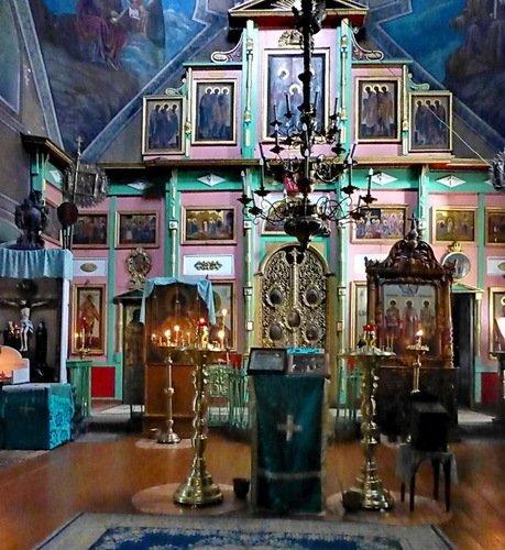 Иконостас церкви Рождества Пресвятой Богородицы в Роще