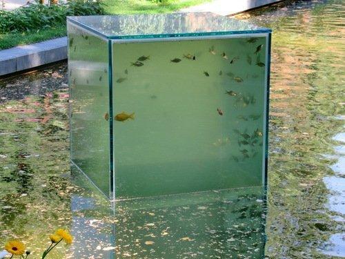 Как вам такая идея аквариума?