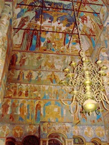 Церковь Воскресения Христова, росписи
